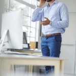 Eugene chiropractor discusses standing more at work