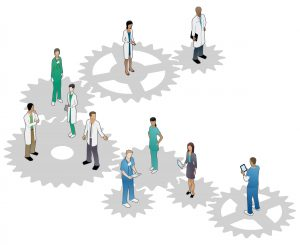 Cooperative healthcare team